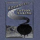 harry potter potion making hogwarts book ipad case by websta