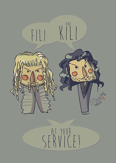 Fili and Kili by KanaHyde