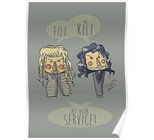 Fili and Kili Poster