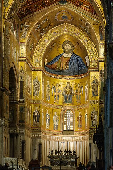 Cattedrale di Monreale, Sicily by Andrew Jones
