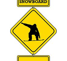 Snowboard Crossing by kwg2200