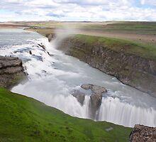 Gullfoss Falls by tonymaclean