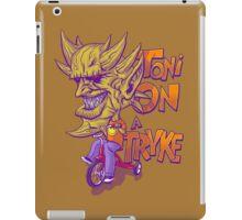 Toni On A Tryke iPad Case/Skin