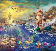 Disney's The Little Mermaid Poster by lucylovett4