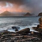 Elgol. Stormy Sunset. Isle of Skye. Scotland. by photosecosse /barbara jones