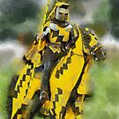 The Yellow Knight, Berkeley Castle, Gloucestershire by buttonpresser