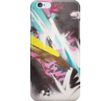 Crosscut abstract iPhone Case/Skin