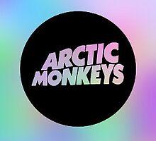 Arctic Monkeys Pastel Poster by unliker