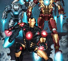 "Iron Man ""Landing"" Superhero Scene by Dheeraj Verma by draj"