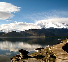 Karakul Lake by Caroline Gutman