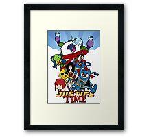 Justice Time Framed Print
