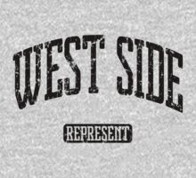 West Side Represent (Black Print) by smashtransit