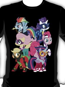 Power Ponies Reassemble T-Shirt