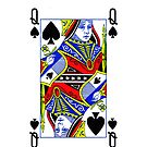 Smartphone Case - Queen of Spades by Mark Podger