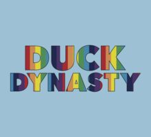 Duck Dynasty Rainbow Text by doodlemarks