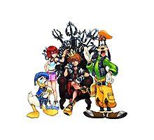 Kingdom Hearts Photographic Print