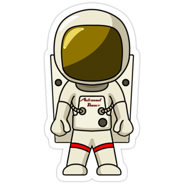 astronaut stickers -#main