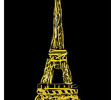 Eiffel tower by Grobie