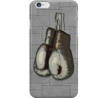 Vintage Boxing Gloves iPhone Case/Skin