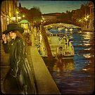 Venice... Night meeting in Santa Croce. by egold