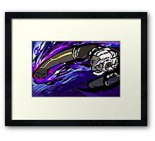 Black Palette Ganondorf   Warlock Punch Framed Print