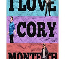 I Love Cory Monteith by lexivas