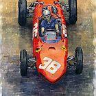 Ferrari Dino 156 1962 Monaco GP by Yuriy Shevchuk