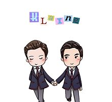 Klaine Phone Case  by Chanel Aguilar