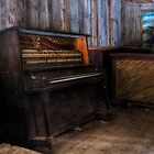Abandoned Piano by DJ Fortune