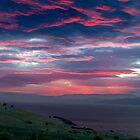 Red sky by night - Tranmere, Tasmania by clickedbynic