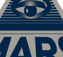 MARS INVESTIGATIONS - BLUE Sticker