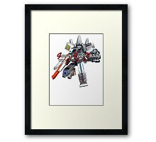 Nintendo Hybrid Transformer - Gamer Geek Nation Framed Print