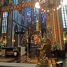 Gold & Glorious: Amsterdam Chruch at Christmas by CreativeEm