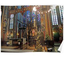 Gold & Glorious: Amsterdam Chruch at Christmas Poster