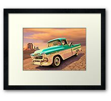 Timeout Framed Print