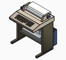 Mainframe Teletype Printer Kids Clothes