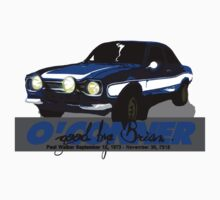 Brian O'Conner COLLECTION CARS #5 by M&J Fashion Graphic