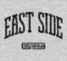East Side Represent (Black Print) T-Shirt