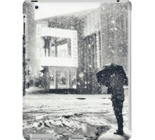 Times Square - Winter Night in the Snow - New York City iPad Case/Skin