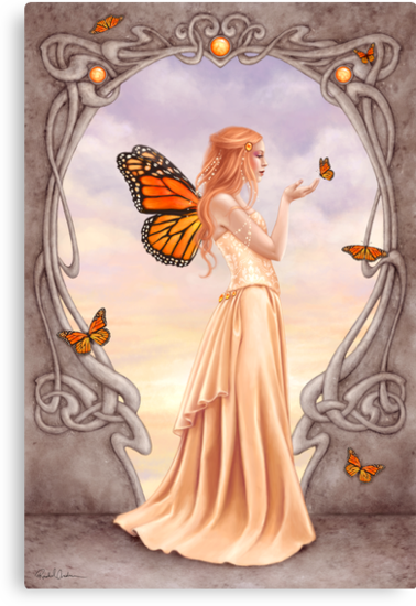 Citrine Birthstone Fairy by Rachel Anderson