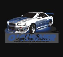 Brian O'Conner COLLECTION CARS #4 by M&J Fashion Graphic