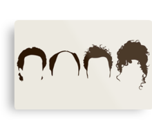 Seinfeld Hair Metal Print