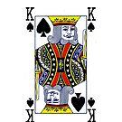 Smartphone Case - King of Spades by Mark Podger