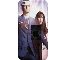 an apple a day keeps the doctor (who) away version 7 iPhone Case/Skin