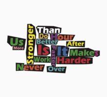 Harder, Better, Faster, Stronger by AHRocketFish