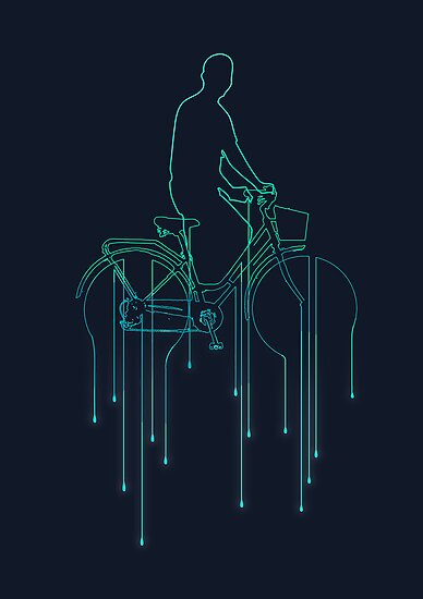 Cycling in the rain by Budi Satria Kwan