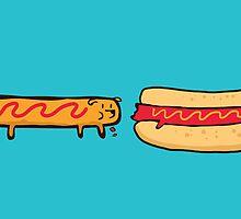 Dog eats dog by Budi Satria Kwan