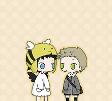 Babies Cas and Dean by Nile-kun