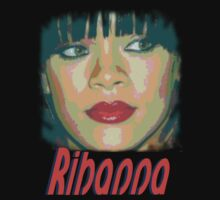 Rihanna T-shirt Art by Mariaan Maritz Krog Photos & Digital Art