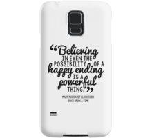 Happy Ending - Mary Margaret Samsung Galaxy Case/Skin